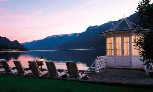 Hotel Ullensvang, Hardangerfjord, Norway