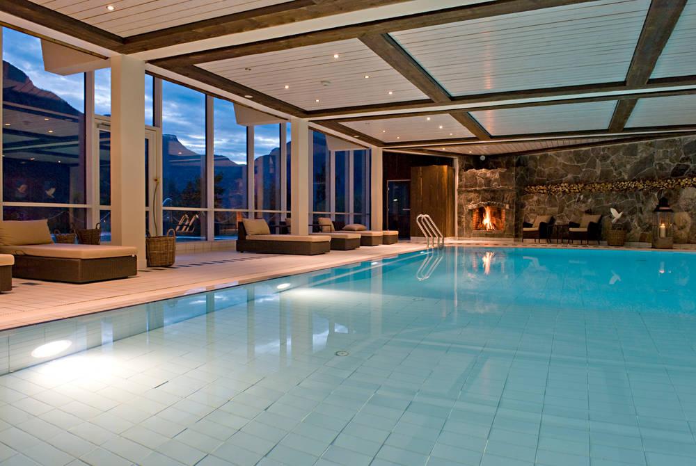 Pool, Hotel Union, Geiranger