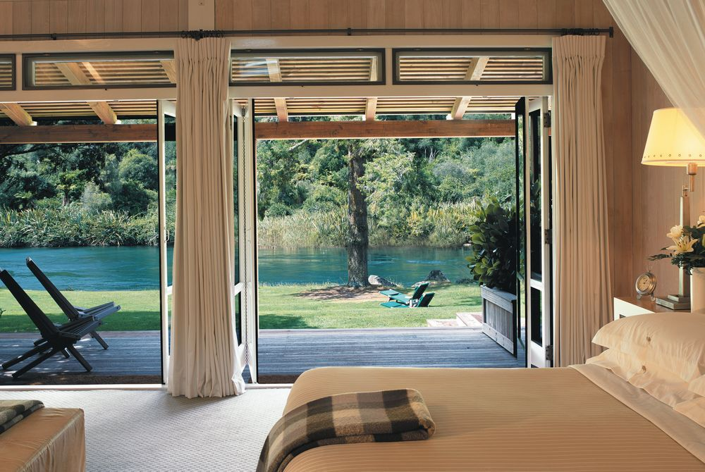 Huka Lodge junior lodge suite, New Zealand