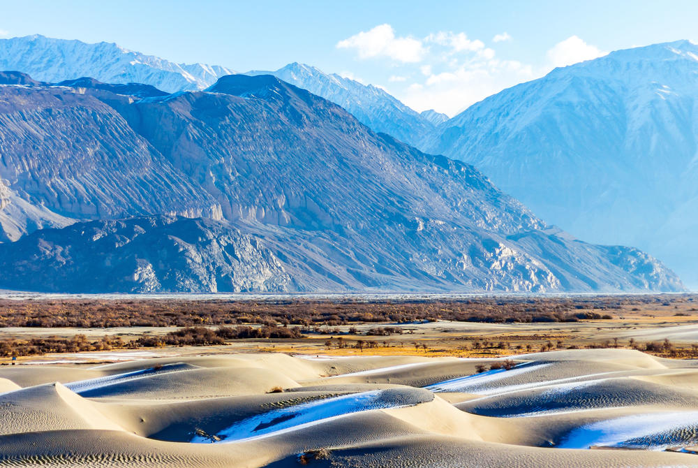 Hunder Sand Dunes, Ladakh