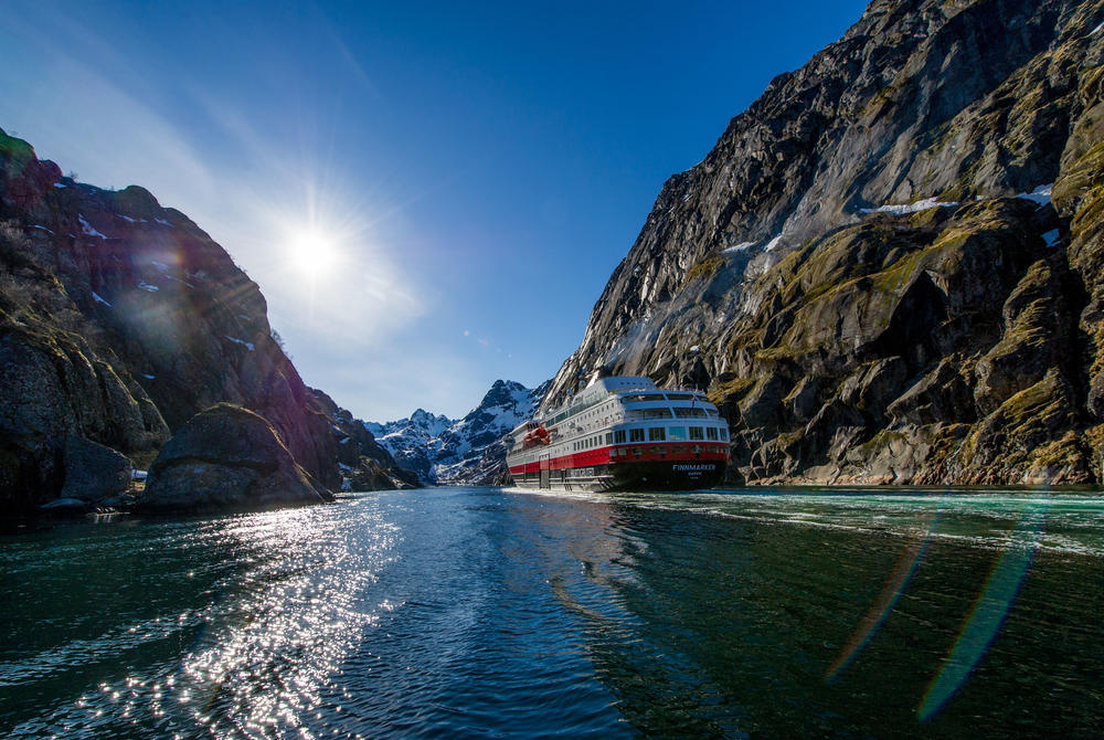 Sailing Norway's fjords with Hurtigruten