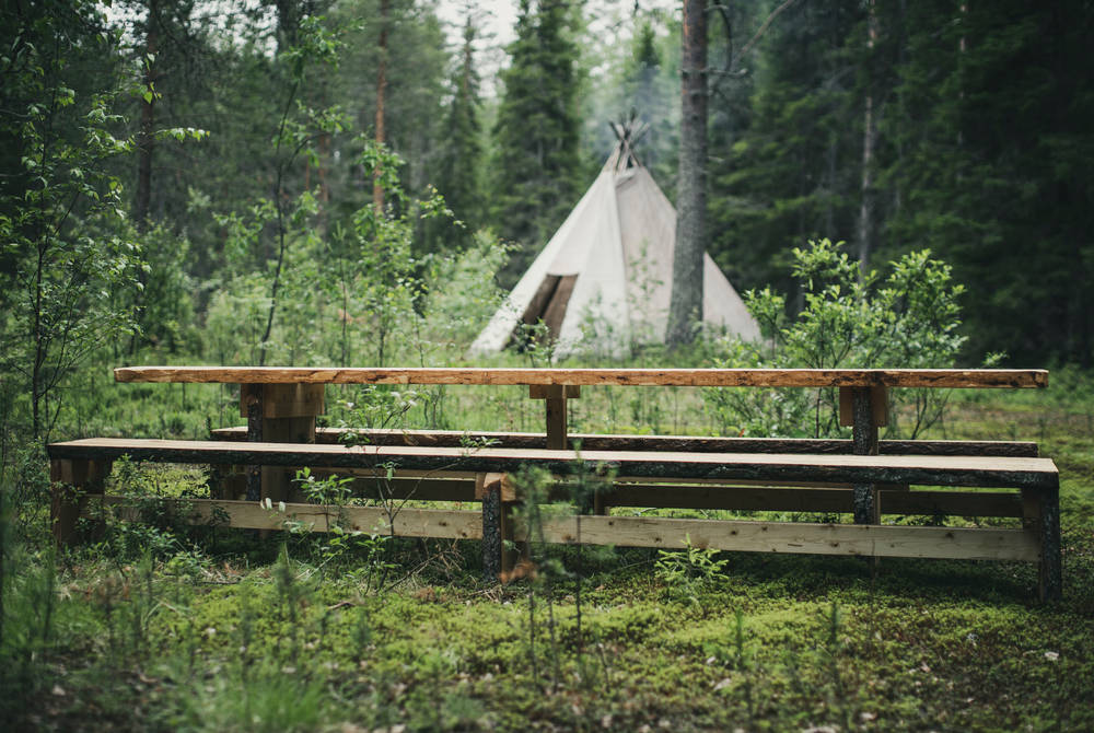 Summer in the heart of Swedish Lapland