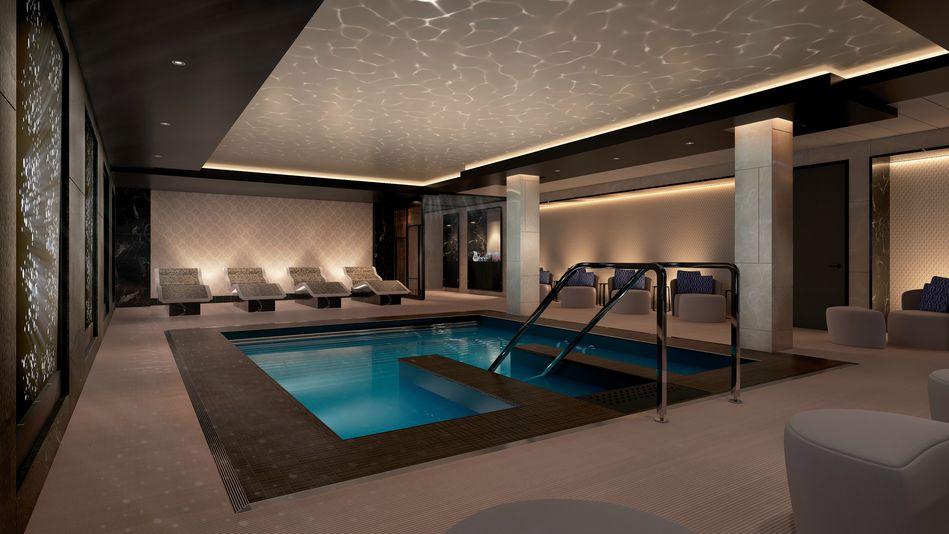 Hydro Pool, Spirit of Discovery, Saga Cruises