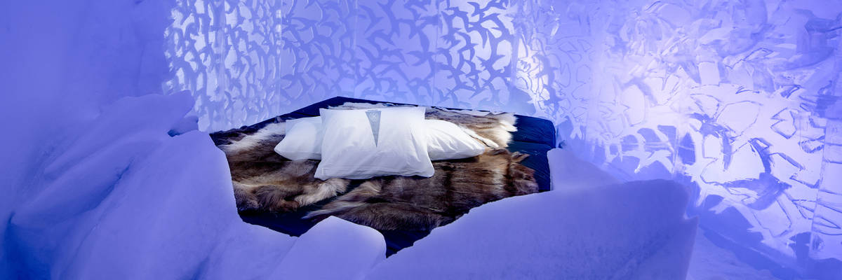 ICEHOTEL 29 | Art Suite Flock | Design Lisa Lindqvist & Ulrika Tallving | Photo Asaf Kliger | © ICEHOTEL