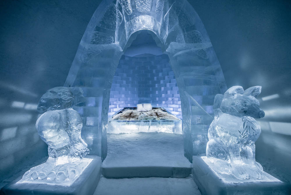 ICEHOTEL 29 | Art Suite Haven Design Jonas Johansson, Jordi Claramunt & Lukas Petko | Photo Asaf Kliger | © ICEHOTEL 2018