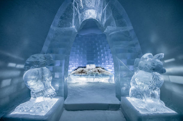 Art Suite Haven in the ICEHOTEL 2018