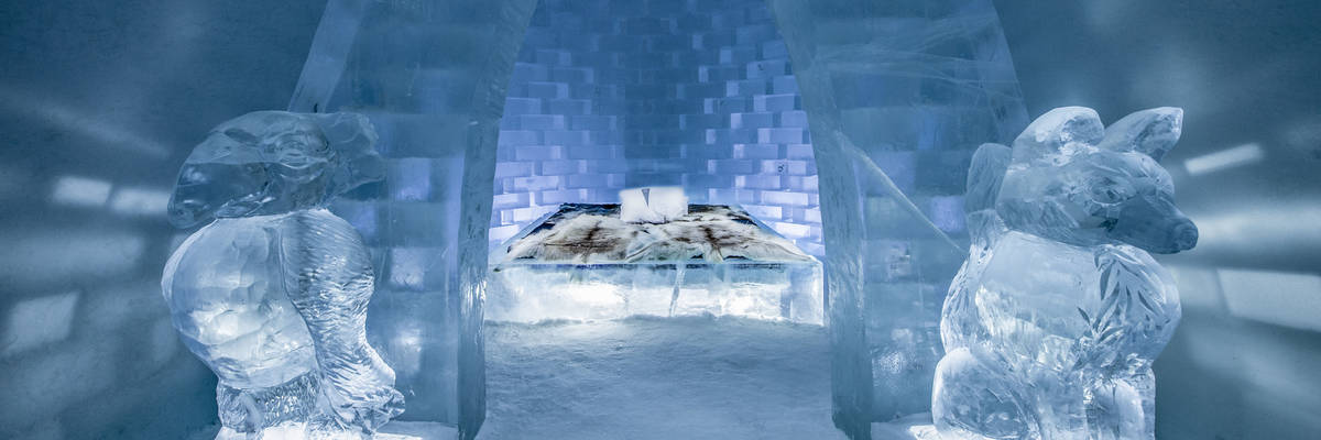 ICEHOTEL 29 | Art Suite Haven | © ICEHOTEL 2018