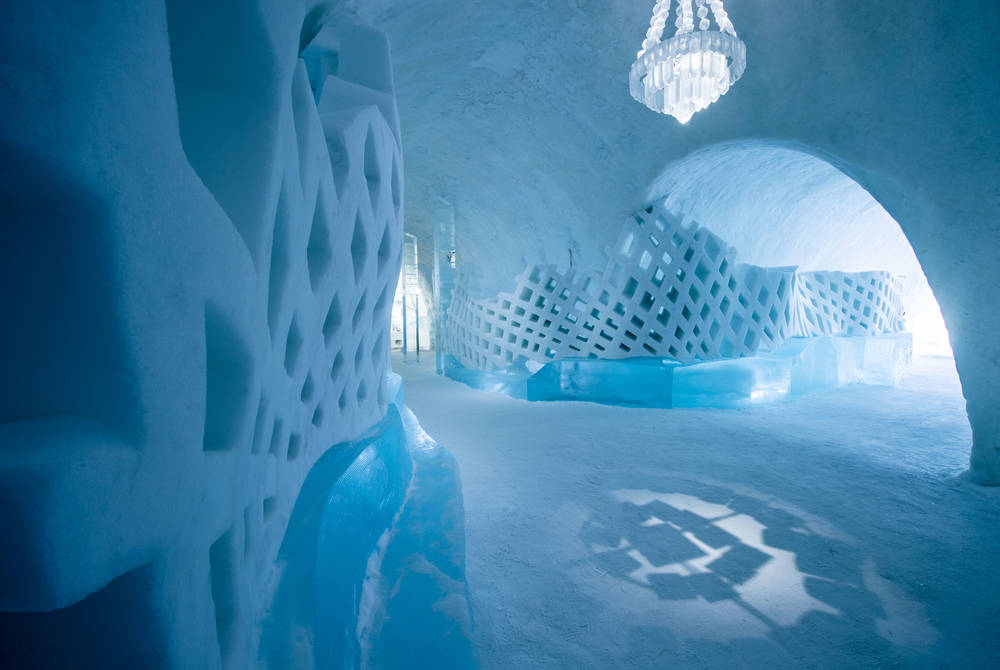 ICEHOTEL 29 | Main Hall | © ICEHOTEL