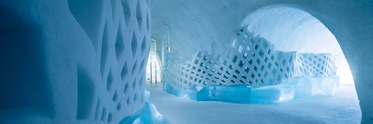 Scandinavia's best ice and snow hotels
