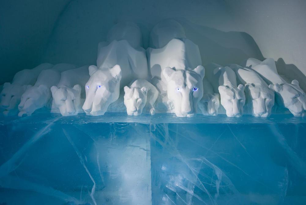 ICEHOTEL 30 | Art Suite Clear Water | Design AnnaSofia Mååg & Niklas Byman | Photo Asaf Kliger