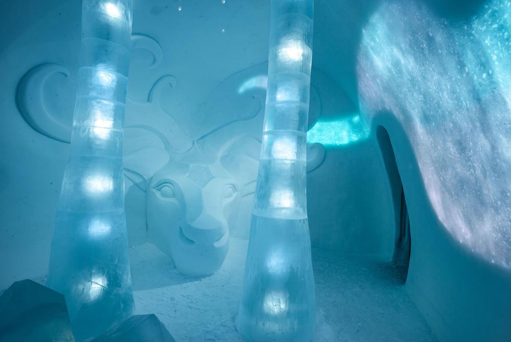 ICEHOTEL 2020 Art Suite Ruossut by Anna Ohlund & John Pettersson