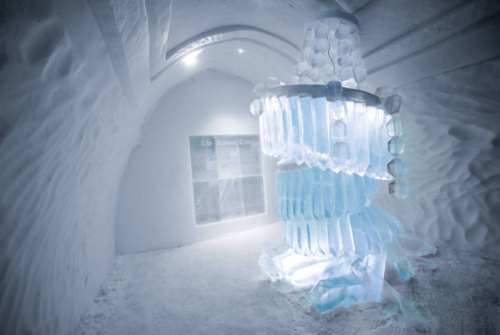 ICEHOTEL 30 | Art Suite The Day After | Design Marjolein Vonk &Maurizio Perron | Photo Asaf Kliger