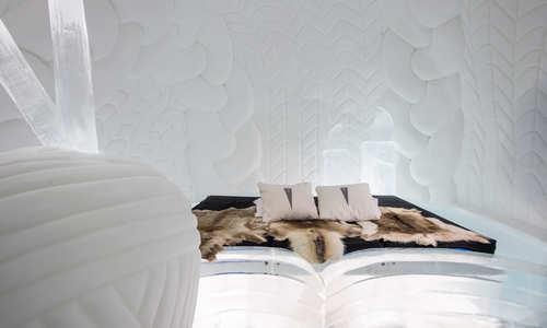 ICEHOTEL 30 | Art Suite Warm up | Design Aleksandra Pasek & Tomasz Czajkowski | Photo Asaf Kliger | © ICEHOTEL www.icehotel.com