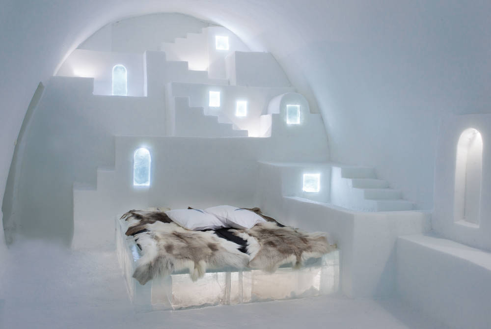 ICEHOTEL 30 | Art Suite White Santorini | Design Haemee Han Jae & Yual Lee | Photo Asaf Kliger