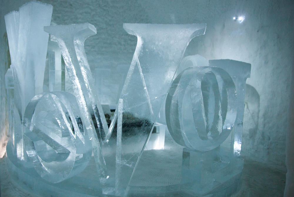 ICEHOTEL 365 Suite Sculpture