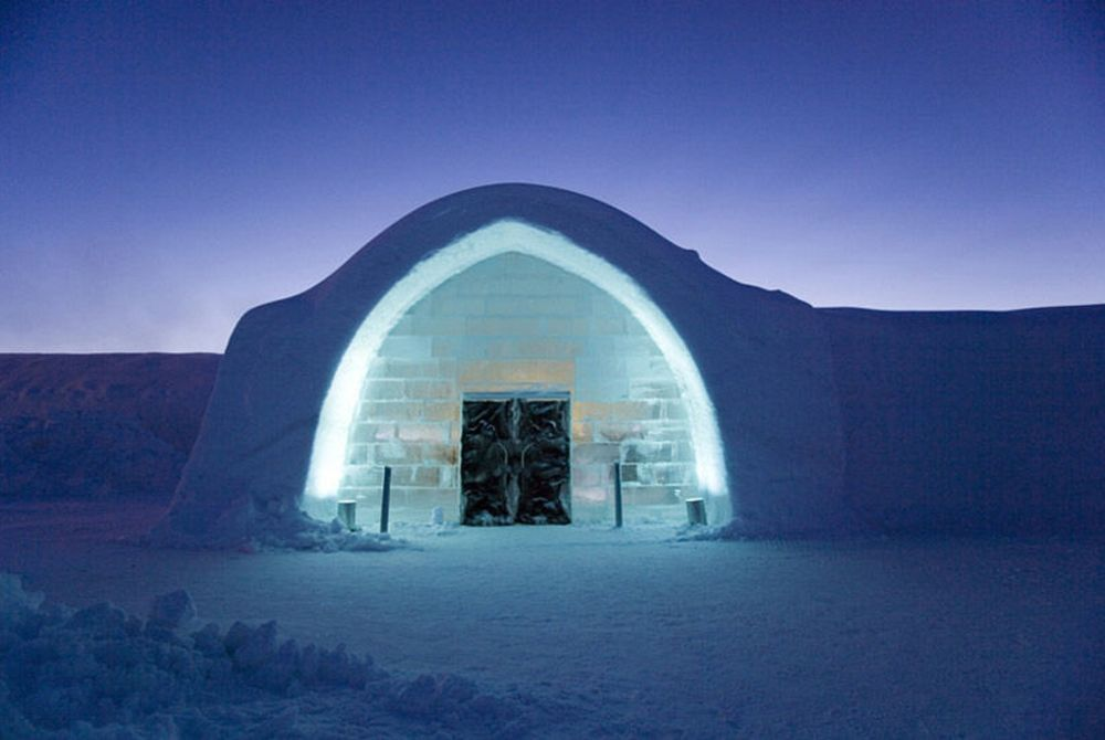 ICEHOTEL, Kiruna, Jukkasjärvi, North Sweden