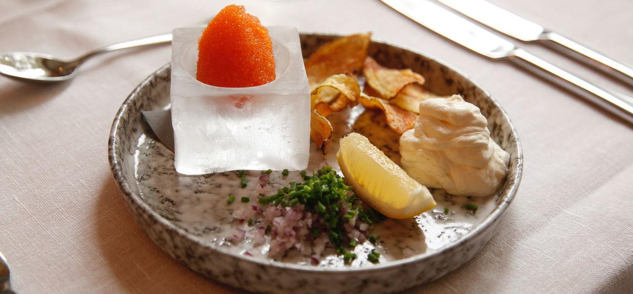 Ice menu, ICEHOTEL 365