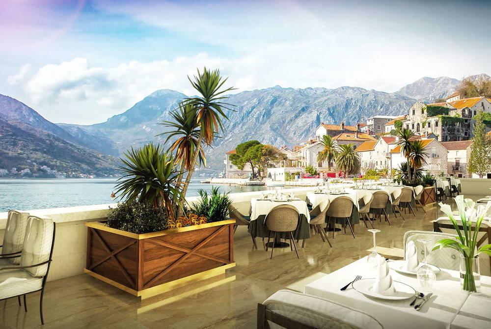 Outdoor terrace, Iberostar Perast, Montenegro