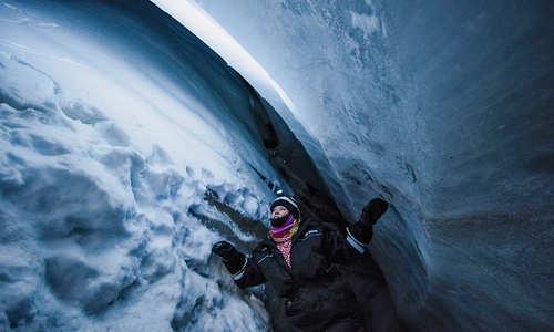 Ice Cave (Credit: Agurtxane Concellon/Hurtigruten Svalbard)
