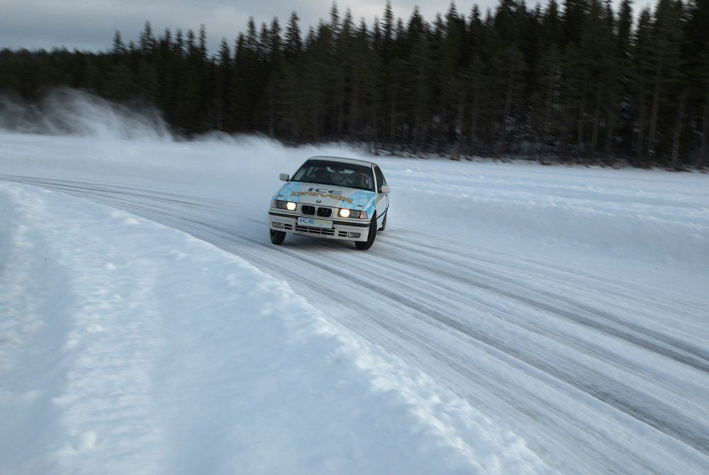 Ice Driving in Geilo