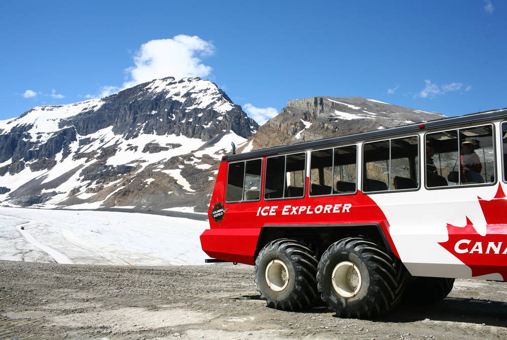 Ice Explorer, Athabasca Glacier, Jasper National Park