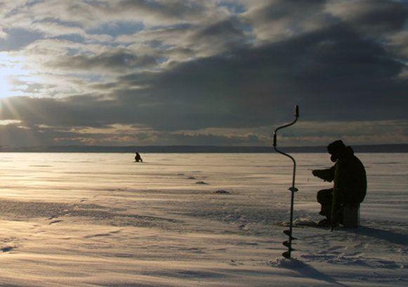 Ice Fishing, Ongajoksetra, Norwegian Lapland