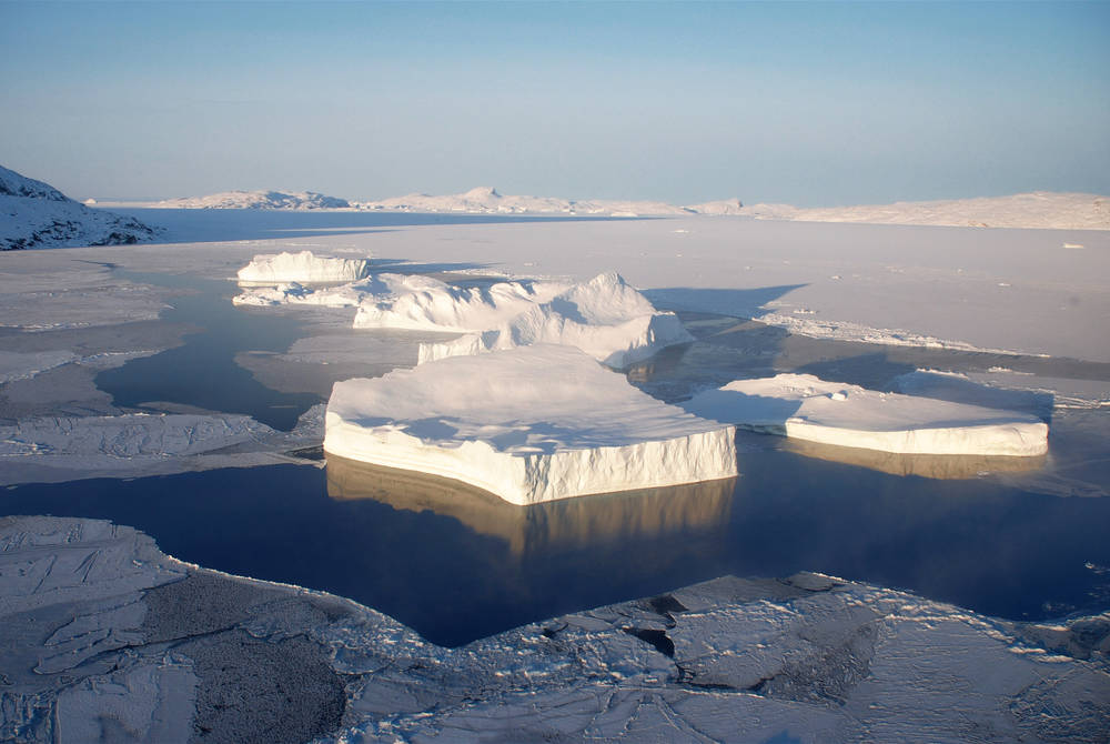 Ice floes, Svalbard