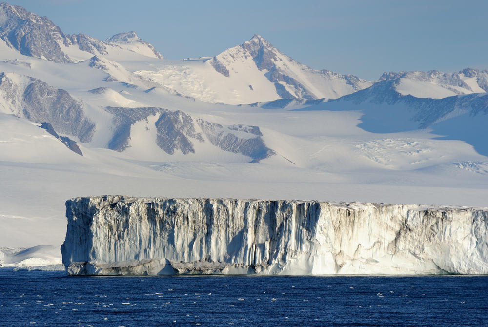 Ice shelf, Ross Sea