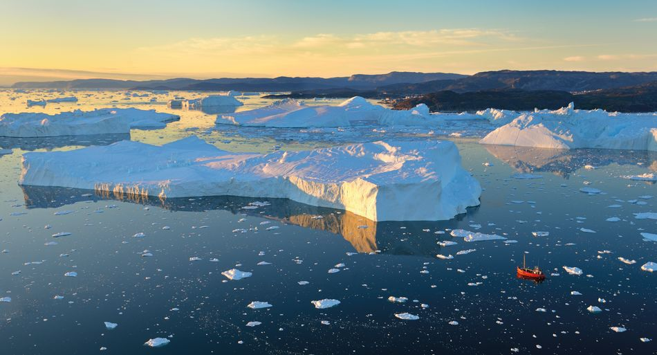 Sailing in Ilulissat, Greenland