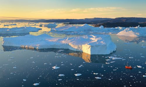 Icefjord at Ilulissat, Greenland