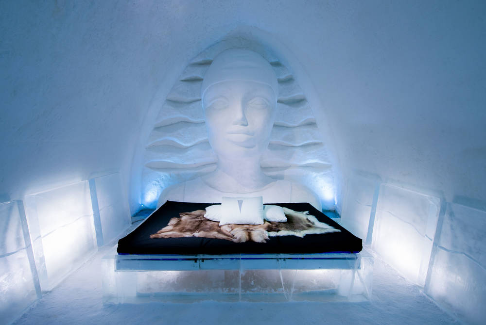 Icewoman, Art Suite, ICEHOTEL