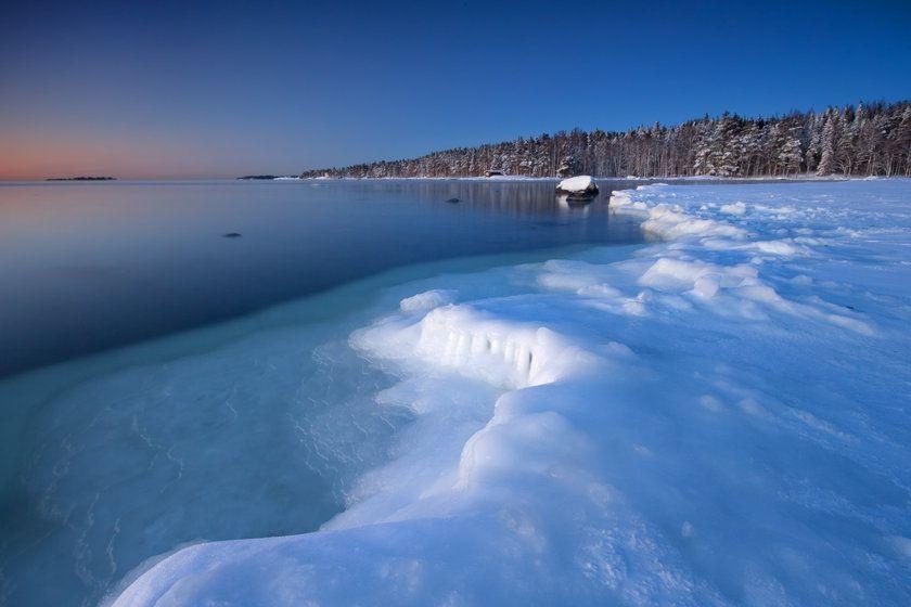 Icy Coast, Helsinki, Finland