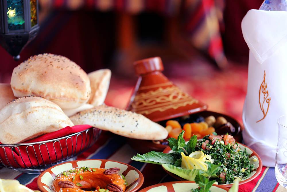 Iftar Dinning in Al Hadheerah, Bab al Shams