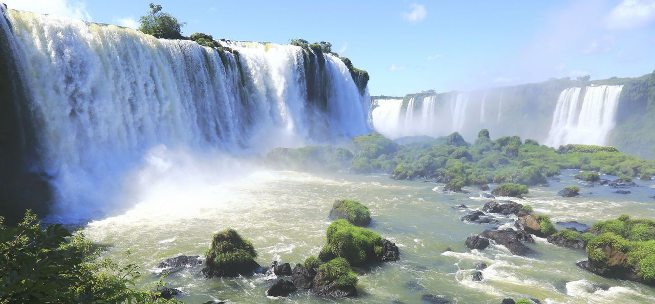 Picture of Iguazú Falls in Argentina or Brazil