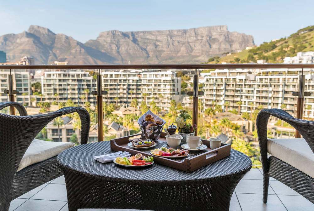 In-room dining, One&Only Cape Town