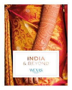 Cover for brochure India & Beyond