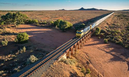Indian Pacific, Pinnacles, Western Australia