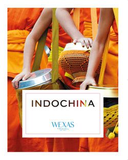Cover for brochure Indochina