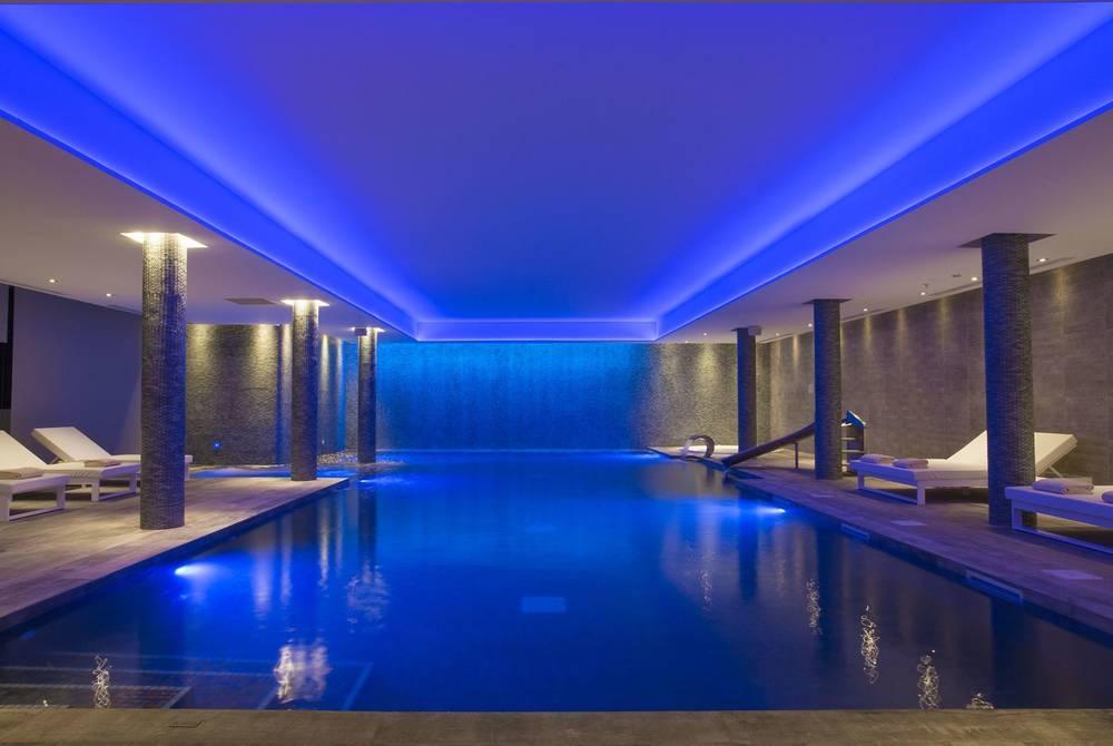 Indoor pool at Penha Longa Resort, Sintra