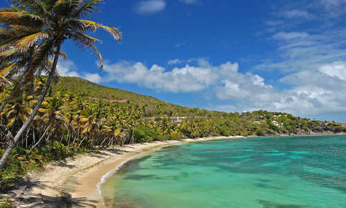 Industry Bay beach, Bequia Island