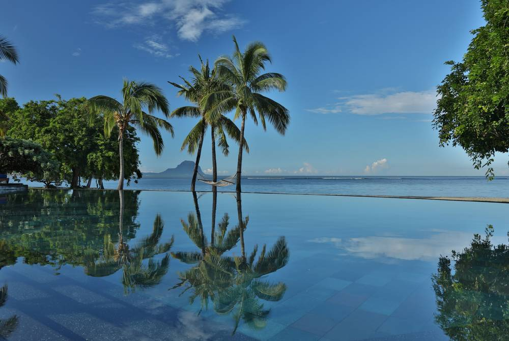 Infinity Pool at Maradiva Villas Resort & Spa