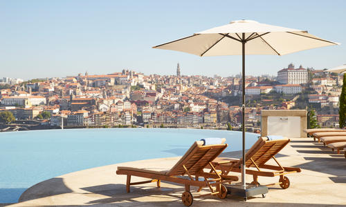 Infinity Pool, The Yeatman, Porto