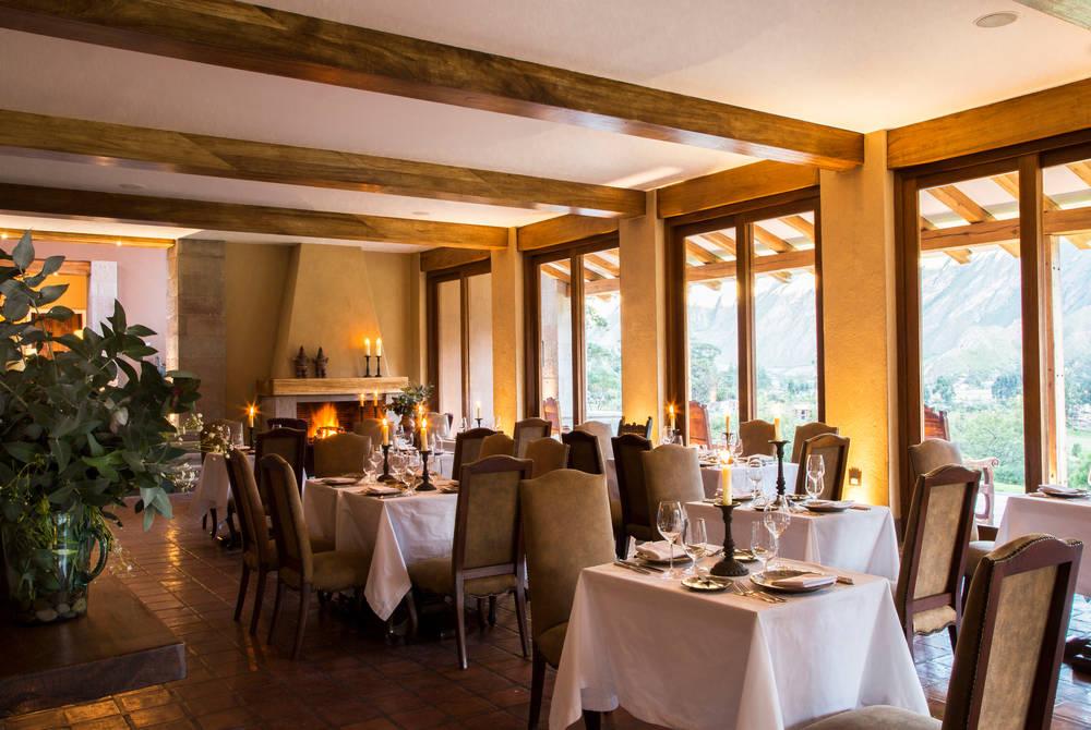 Dining, Inkaterra Hacienda Urubamba