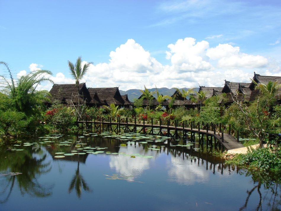 Inle Princess Resort on Inle Lake in Myanmar