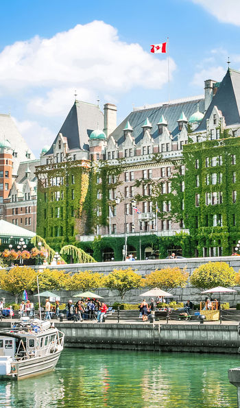 Inner Harbour, Victoria, Vancouver Island