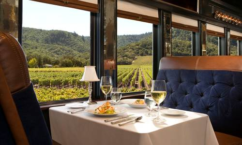 Interior Closeup, Napa Wine Train