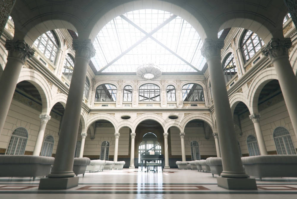 Interior, Gran Hotel Miramar