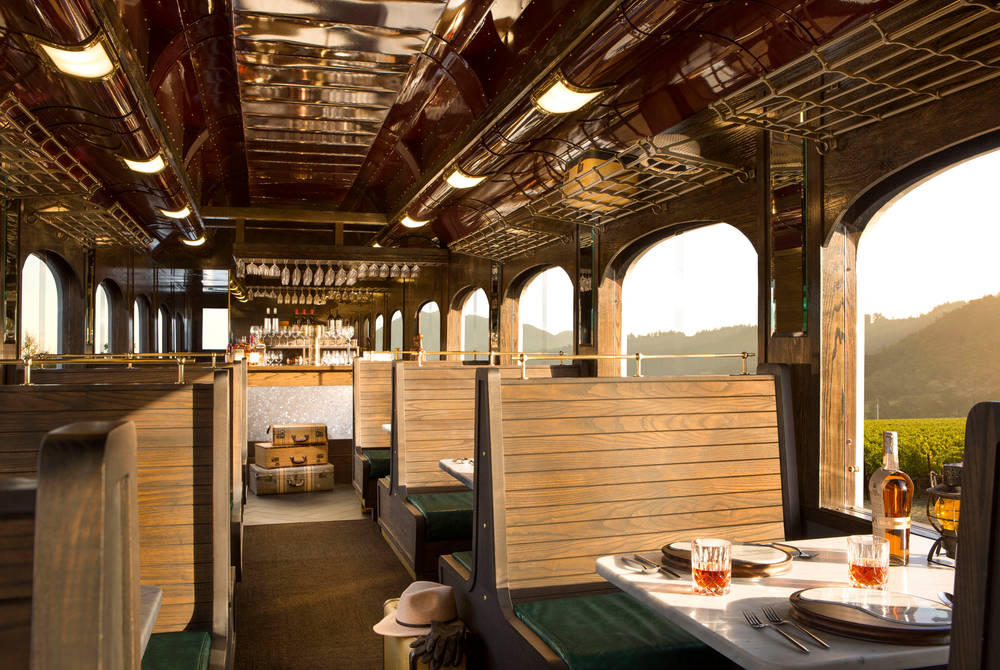 Interior, Napa Valley Wine Train