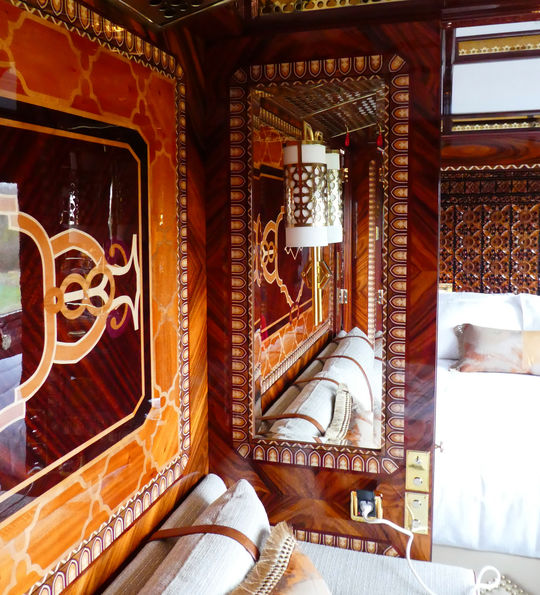 The Istanbul Grand Suite aboard the Venice Simplon-Orient-Express