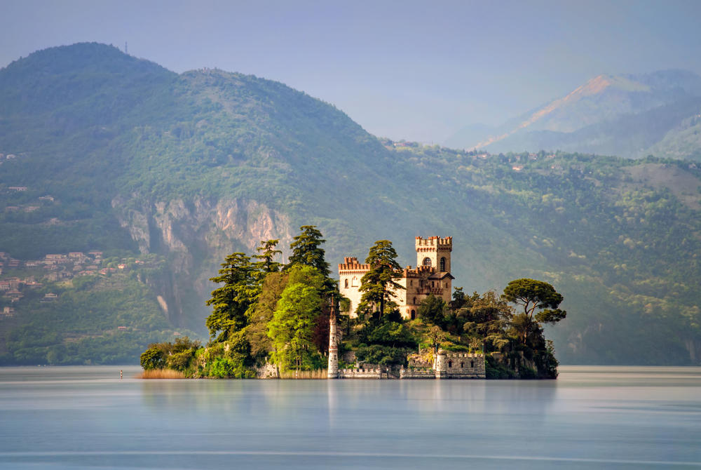 Lake Iseo in Italy